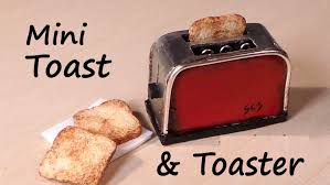Tiny Toaster Miniature Toast U0026 Toaster Polymer Clay Tutorial Youtube