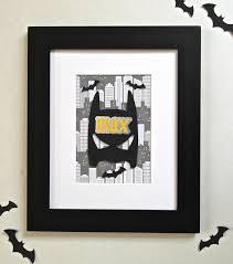 Popular Items For Batman Room Decor Etsy 3d ic Book Art