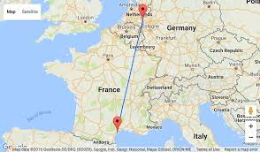 Southern Germany Map by Weekend In Southern France Dusseldorf Weeze To Beziers For Only U20ac6