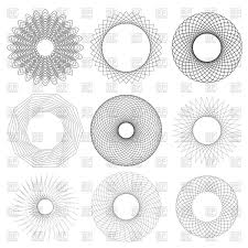 circle geometric ornaments vector clipart image 101018 rfclipart