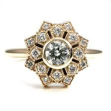 10 vintage inspired engagement rings mywedding
