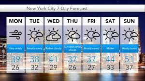 new york travel forecast images 7 days weather forecast for new york city jpg