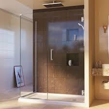 30 Shower Door Dreamline Unidoor Plus 30 3 8 In X 48 In X 72 In Semi Frameless