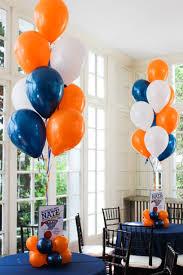 basketball balloon centerpiece balloon centerpieces pinterest