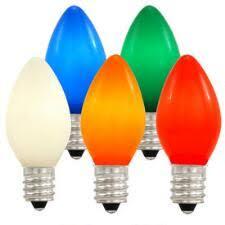 c7 bulbs cords lights bronner s
