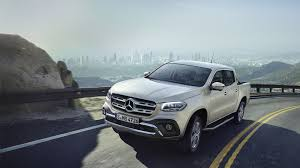 x class first of a new kind the pickup from mercedes benz