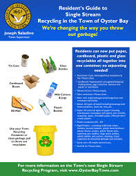 recycling information s o r t town of oyster bay
