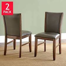 Dining Chairs Costco Costco Leather Dining Chairs Dining Set Bonded Leather Chair