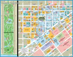 san francisco map sightseeing san francisco oakland map tourist attractions travelsfinders