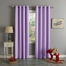 Blackout Curtains White Interior Shade Diamond Lavender Blackout Curtains With White Rod
