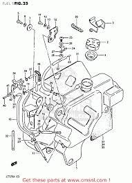 guard fuel tank lt125 1983 d 4457024401