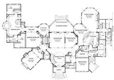 chateau house plans a hotr reader s revised floor plans to a 17 000 square