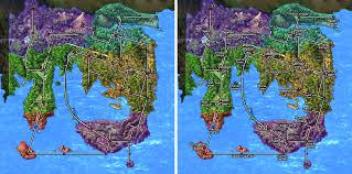 Hoenn Map Kanto Region Map By Pokemonscarletversio On Deviantart