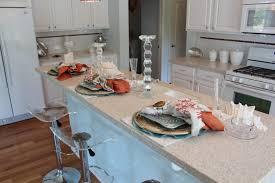 decorating cozy white kitchen island with corian vs granite