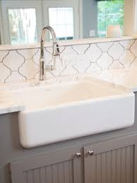 interior kitchen backsplash with arabesque tiles hand glazed