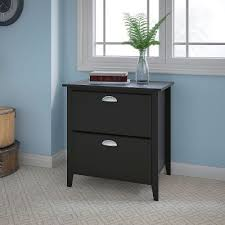 Black 2 Drawer Lateral File Cabinet Kathy Ireland Black Oak 2 Drawer Lateral File Cabinet