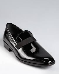 salvatore ferragamo formal loafer dress shoes with banded accent