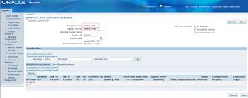 api to create ap supplier welcome to my oracle world