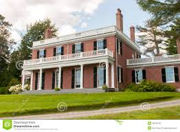 federal style house federal architecture exterior of an brick mansion or