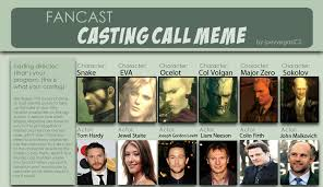 Mgs Meme - mgs 3 fan cast by bageltheandroid on deviantart