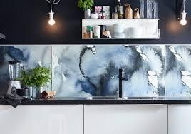 plaque inox cuisine ikea revêtement mural ikea
