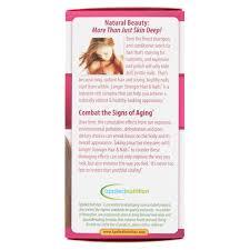longer stronger hair u0026 nails supplement 60 ct walmart com