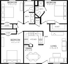 download three bedroom apartment layout home intercine