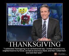 jon stewart thanksgiving meme david dror