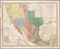 me a map of mexico a map of the united states of mexico david rumsey historical