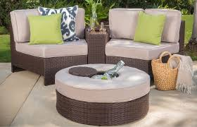Hampton Bay Sectional Patio Furniture - patios circle wicker chair portofino patio furniture hampton
