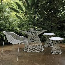 Metal Mesh Patio Table Metal Patio Dining Table Home Design Ideas And Pictures