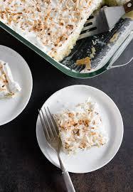 toasted coconut tres leches cake nutmeg nanny