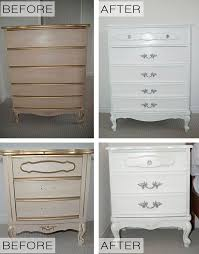 Painted Bedroom Furniture Before And After by Best 25 French Provincial Furniture Ideas On Pinterest French