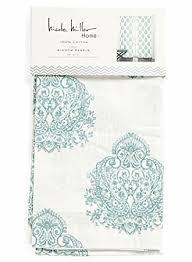 Turquoise Paisley Curtains Amazon Com Nicole Miller Aquarelle Paisley Pair Of Curtains 2