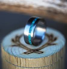 turquoise wedding turquoise rings staghead designs design custom wedding bands
