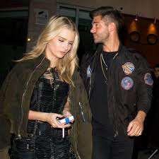 moss and lottie moss and alex mytton left faced after they re