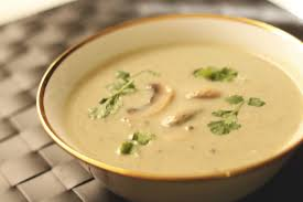 creamy mushroom and coriander soup the indian claypot