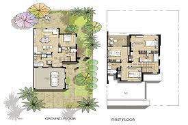 Dubai House Floor Plans Floor Plans Hayat Townhouses Town Square By Nshama