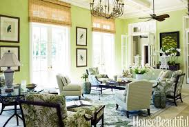 Green Room Decorating Ideas Green Decor Ideas - House beautiful living room colors