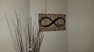 infinity love metal art home decor sign 20
