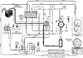 lawn mower wiring diagram lawn wiring diagrams instruction