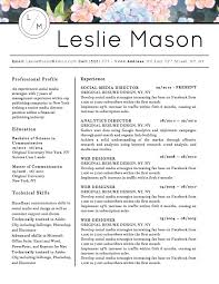 cover sheet resume sample 5 best creative resume templates for microsoft word 2017