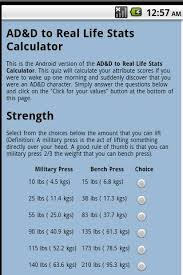 A Good Bench Press Weight Ad U0026d Stats Quiz Android Apps On Google Play