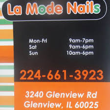 la mode nails glenview youtube