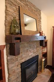 Mantel Fireplace Decorating Ideas - reclaimed wood mantel u2013 a decorative element with a unique look