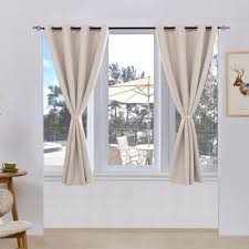 subrtex thermal insulated window treatment 2 panels
