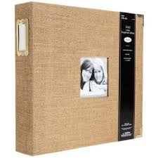 photo album 3 ring binder gold burlap 3 ring scrapbook album 12 x 12 hobby lobby 1092519