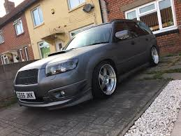 subaru forester lowered modified subaru forester 2 5 turbo petrol awd sg9 in ely
