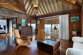 hilton bora bora nui overwater suite interior fiji islands yfgt