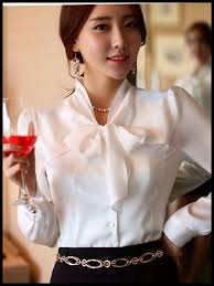 White Blouse With Black Bow 123 Best Blouse With Bow Images On Pinterest Bow Blouse Shirts